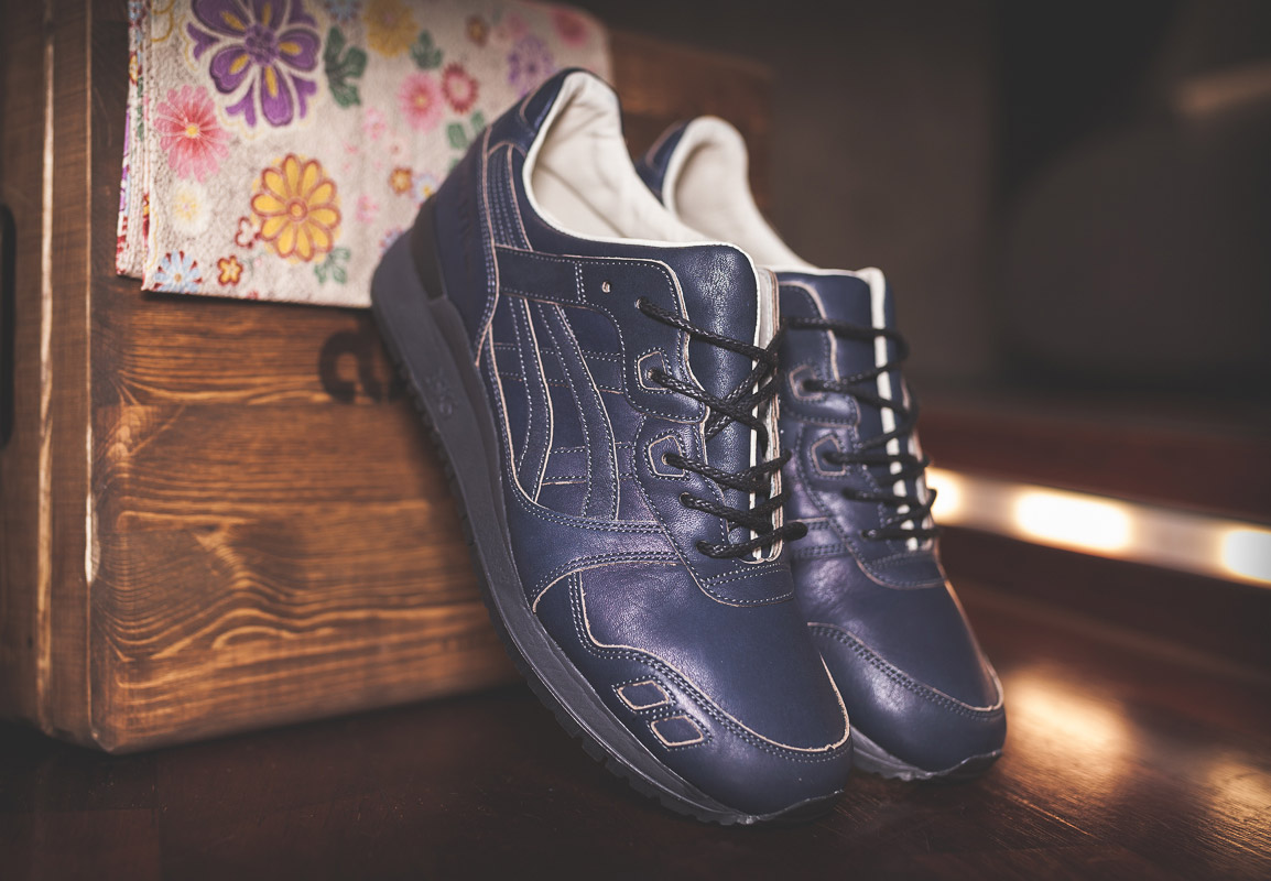 info pour b7b81 99f6d Asics Gel Lyte III: Indigo Dyed & Made in Japan Pack